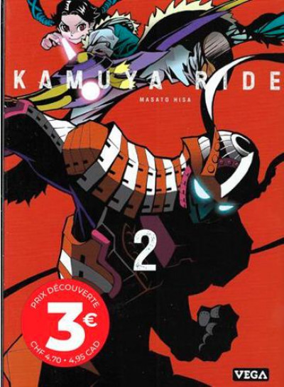 Couverture Kamuya ride tome 2
