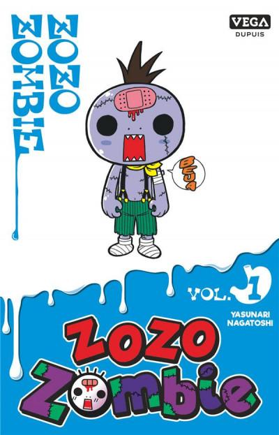 Couverture Zozo zombie tome 1 (prix réduit)