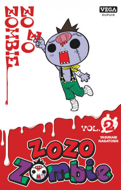 Couverture Zozo zombie tome 2 (prix réduit)