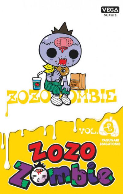 Couverture Zozo zombie tome 3 (prix réduit)