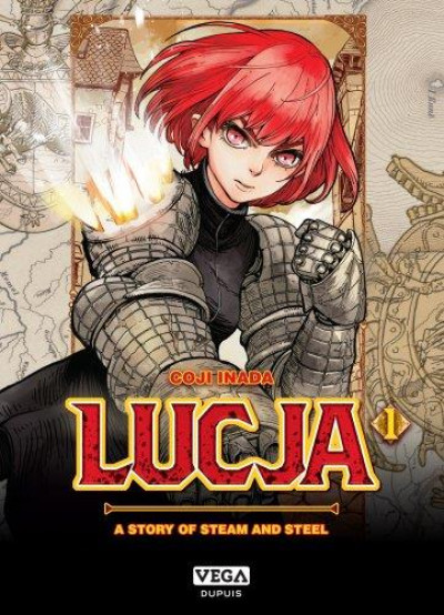 Couverture Lucja, a story of steam and steel tome 1
