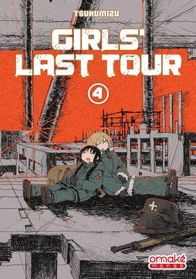 Couverture Girls last tour tome 4