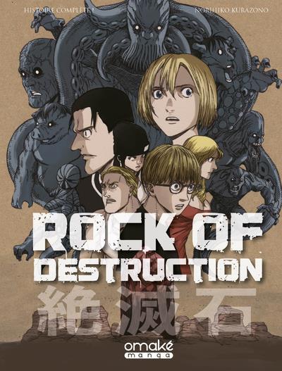 Couverture Rock of destruction