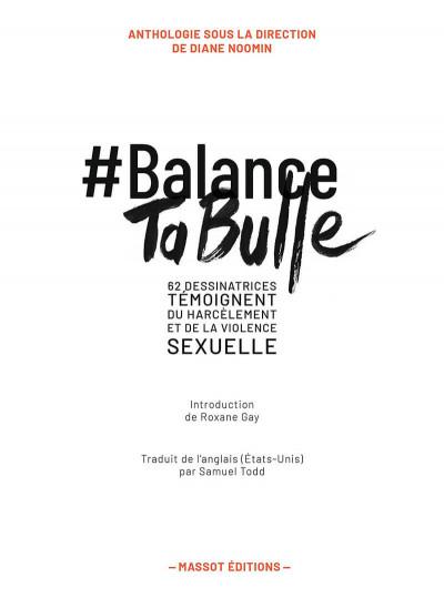Page 4 Balance ta bulle - 60 dessinatrices témoignent du harcèlement et de la violence sexuelle