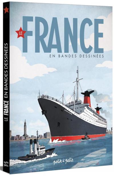 Couverture Le France en BD