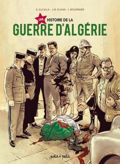 Couverture Une histoire de la guerre d'Algérie