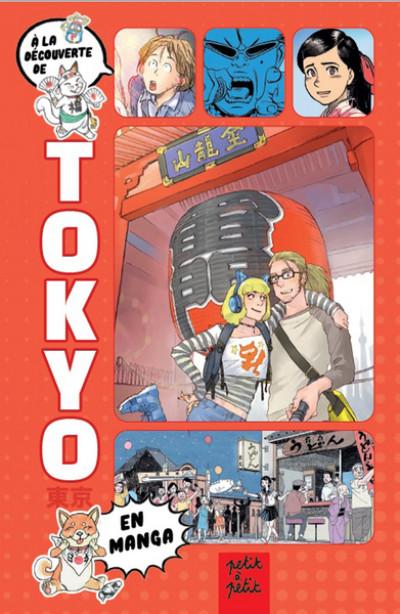 Couverture Guide de Tokyo en manga