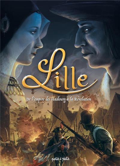 Couverture Lille en BD tome 2