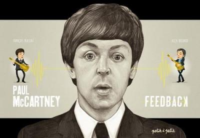 Couverture Paul Mccartney en BD - Feedback