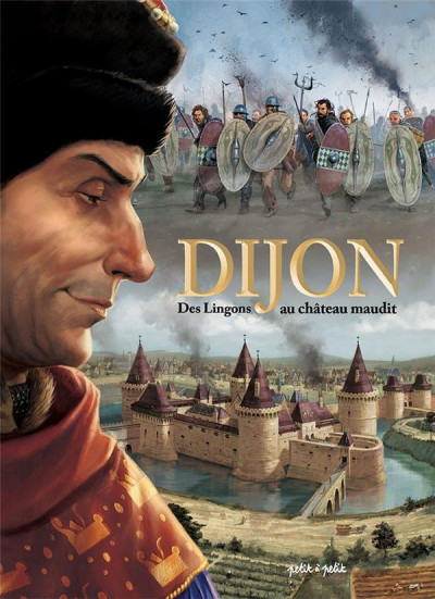 Couverture Dijon en BD tome 1