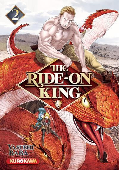 Couverture The ride-on king tome 2