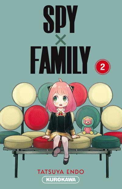 Couverture Spy x family tome 2