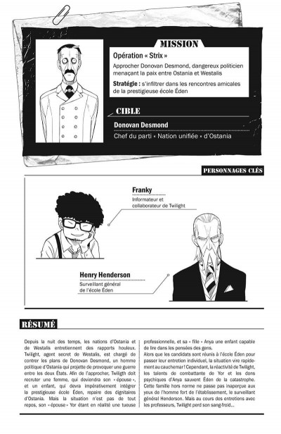Page 4 Spy x family tome 2