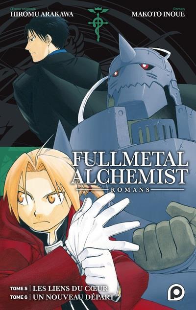 Couverture Fullmetal alchemist - roman tomes 5 et 6