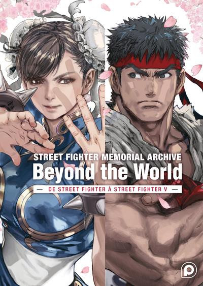 Couverture Street fighter memorial archive - Beyond the world
