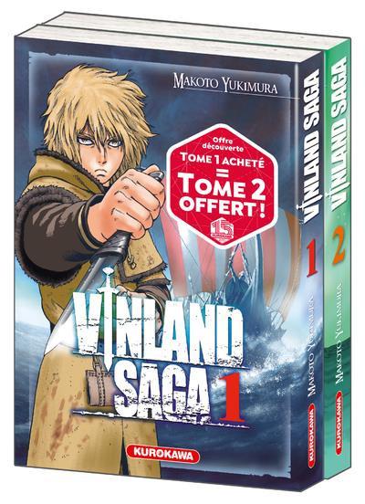 Couverture Vinland saga - pack tomes 1 et 2