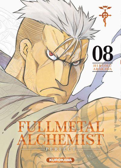 Couverture Fullmetal alchemist - perfect tome 8