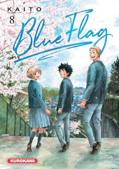 Couverture Blue flag tome 8