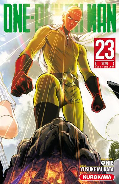 Couverture One-punch man tome 23