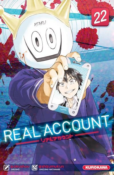 Couverture Real account tome 22