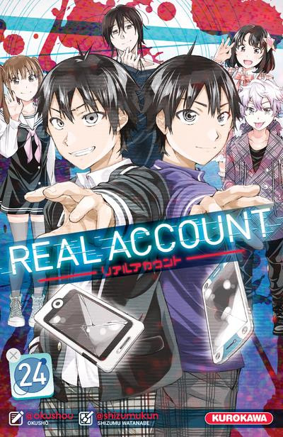 Couverture Real account tome 24