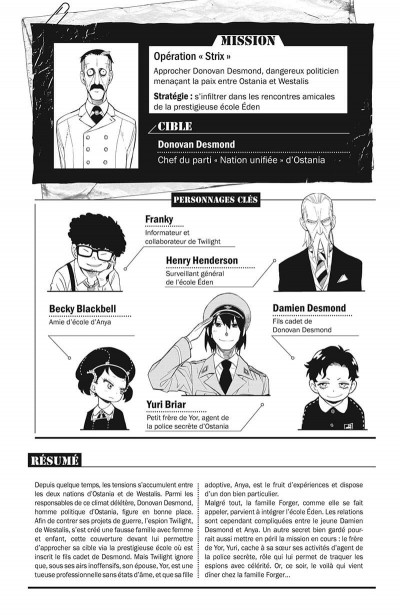 Page 4 Spy X family tome 3