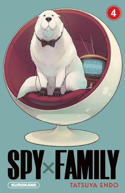 Couverture Spy X family tome 4