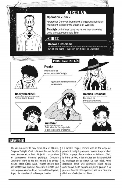Page 6 Spy X family tome 4
