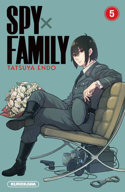 Couverture Spy X family tome 5