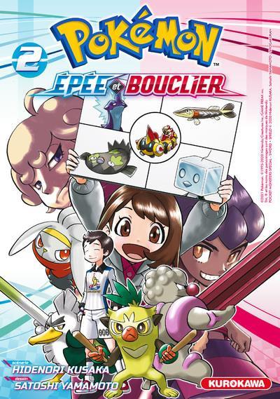 Couverture Pokémon - Epée et Bouclier tome 2