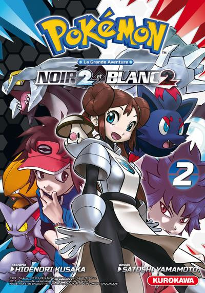 Couverture Pokémon noir 2 et blanc 2 tome 2