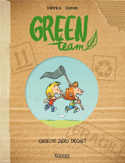 Couverture Green team tome 1