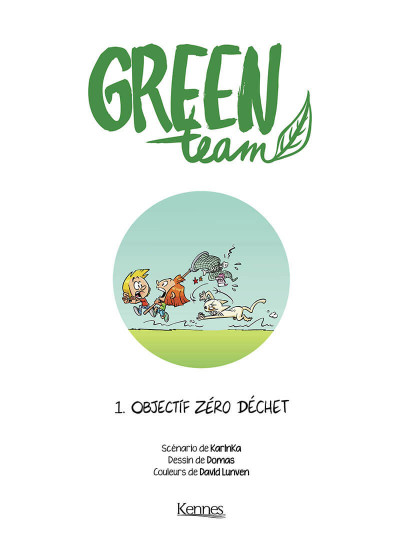 Page 3 Green team tome 1