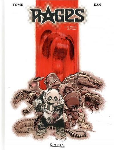 Couverture Rages tome 1