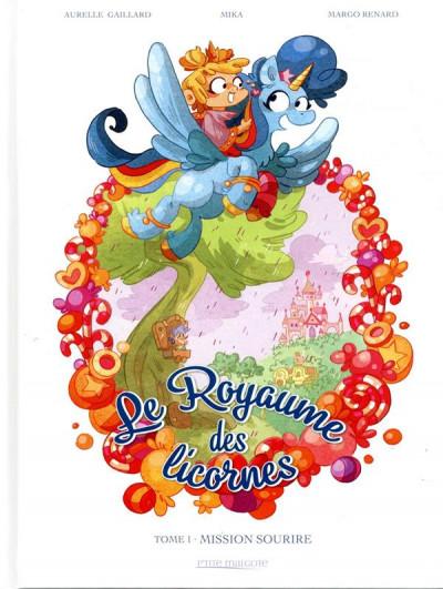 Couverture Le royaume des licornes tome 1