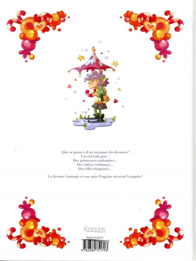 Dos Le royaume des licornes tome 1