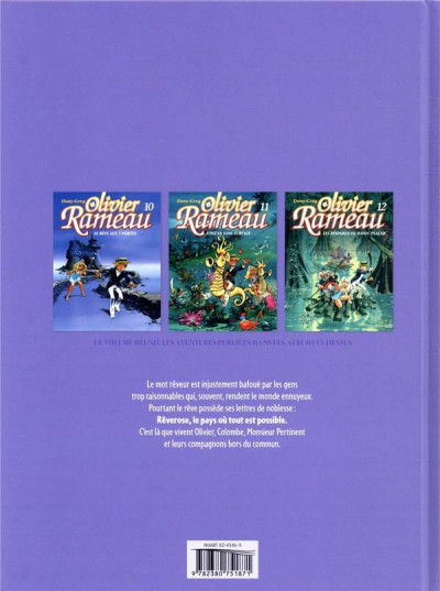Dos Olivier Rameau - intégrale tome 4