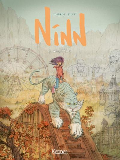 Couverture Ninn tome 5 + ex-libris offert