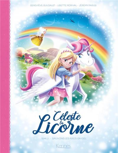Couverture Céleste la licorne tome 2