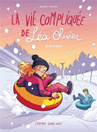 Couverture La vie compliquée de Léa Olivier tome 9