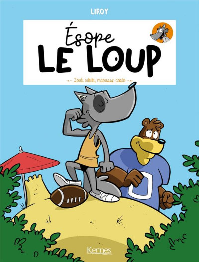 Couverture Esope le loup tome 2