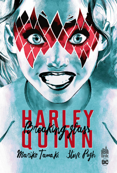 Couverture Harley Quinn - Breaking glass