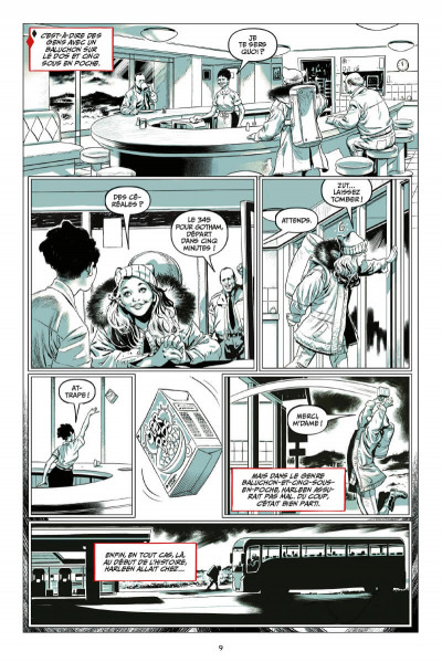 Page 1 Harley Quinn - Breaking glass