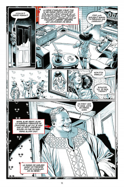 Page 4 Harley Quinn - Breaking glass