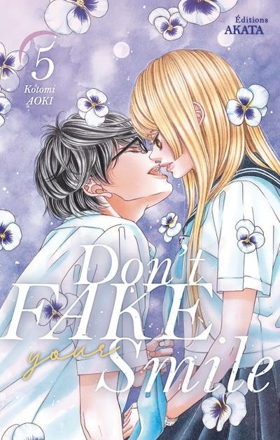 Couverture Don't fake your smile tome 5
