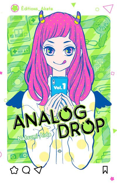 Couverture Analog drop tome 1