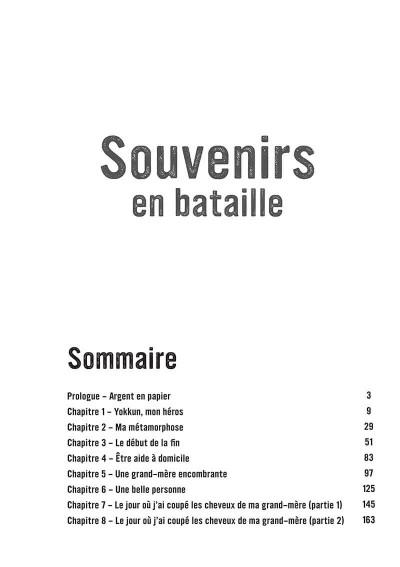 Page 3 Souvenirs en bataille