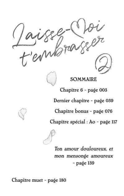 Page 3 Laisse-moi t'embrasser tome 2