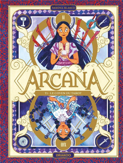 Couverture Arcana tome 1