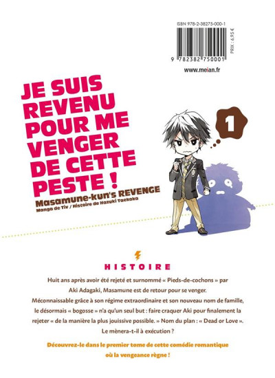 Dos Masamune-kun's revenge tome 1